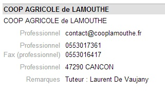 Coop lamouthe