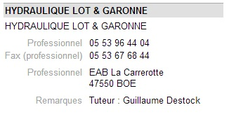 Hydraulique lot garonne 1