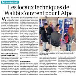 Visite dEntreprises : parc Walibi